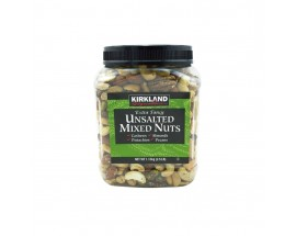 Kirkland Signature Unsalted Mixed Nuts