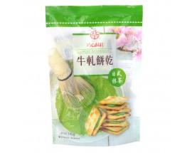 Chung Hsiang Nougat Sandwiches Crackers(Matcha Flavor)