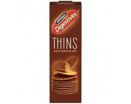 Mcvities Digestive Thins Milk Chocolate