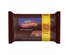 Mcvities Milk Chocolate Digestive Twin Pack