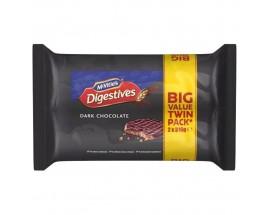 Mcvities Dark Chocolate Digestive Twin Pack
