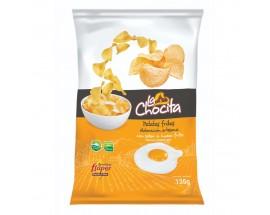 La Chocita Fried Egg Flavored Chips